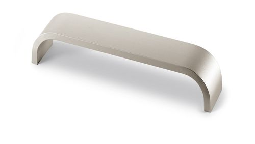 CATANA 'D' Cupboard Handle - 2 sizes - 2 finishes (HETTICH - Organic)