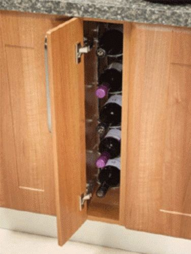 Fixed Wine Rack Innostor For 150mm Wide Cabinet Ecf Wwfwr150
