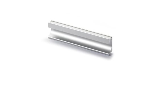 SPIRA RECESSED Cupboard Handle - 2.0m long (cut to size) - ANODISED ALUMINIUM (HETTICH - New Modern)